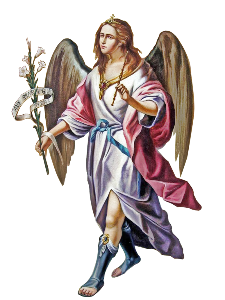 Arcangel San Gabriel Oracion Proteccion Y Ayud by joeatta78 PlusPng.com  - Angel Gabriel PNG