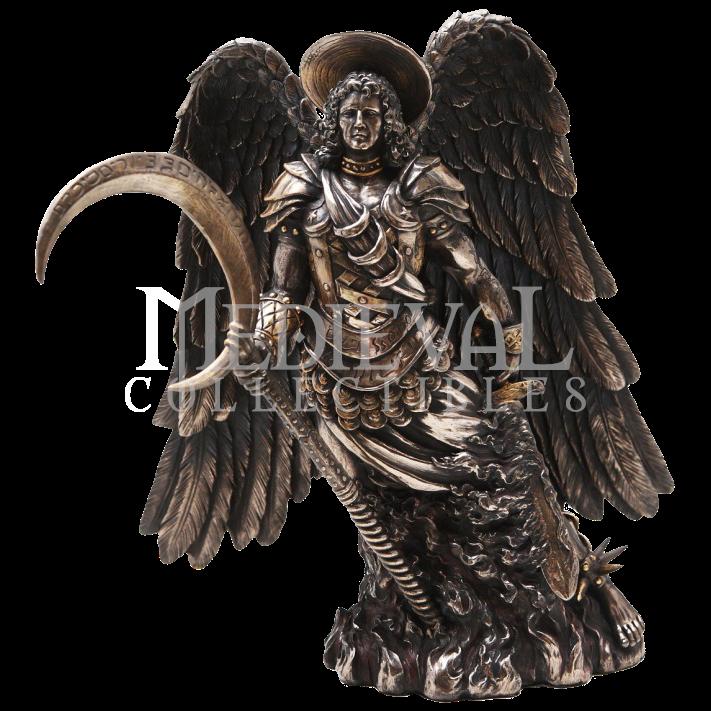 Archangel Gabriel Statue - Angel Gabriel PNG