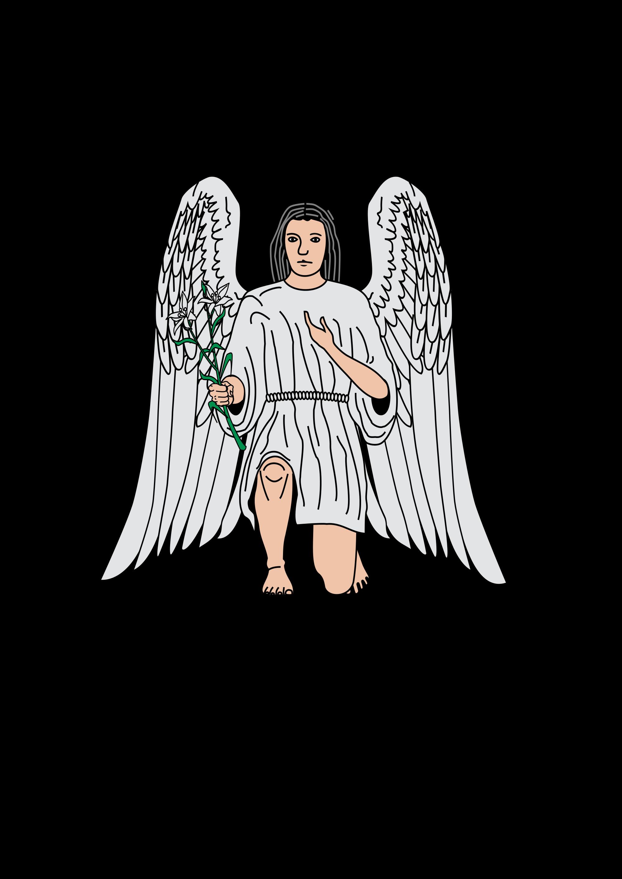 Open PlusPng.com  - Angel Gabriel PNG