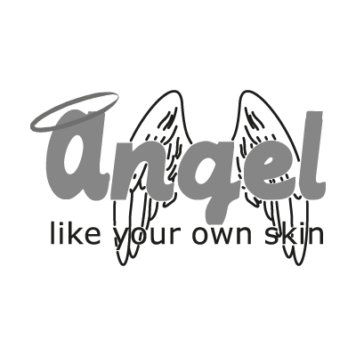 Angel Chapil vector logo . - Logo Angel Chapil PNG - Angel Souvenirs Vector PNG