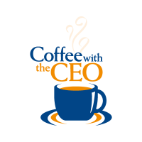 . PlusPng.com Coffee with the CEO vector logo - Angel Souvenirs Vector PNG