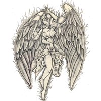 Angel Tattoos PNG - 2526