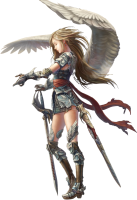 Angel Warrior PNG