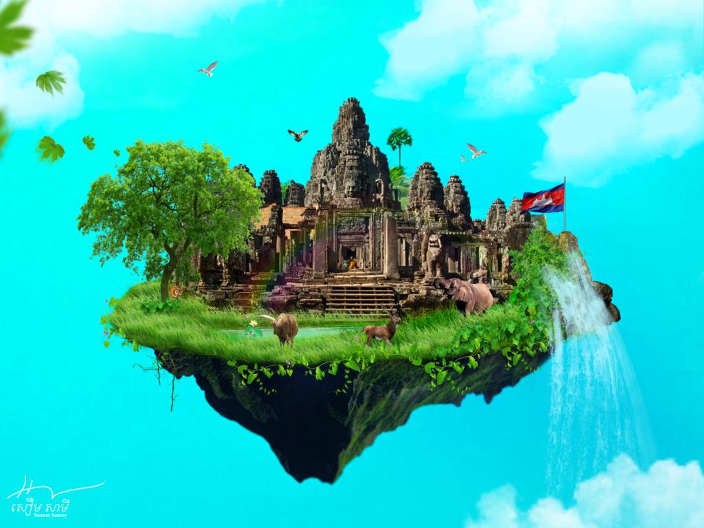 Angkor-Wat by SameyPiano PlusPng.com  - Angkor Wat PNG