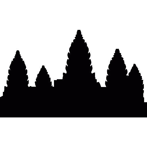 Angkor Wat free icon - Angkor Wat PNG