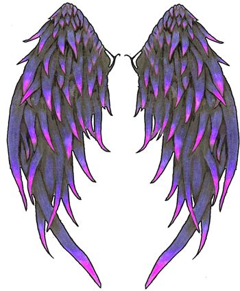 angle wings | angel-wings-tattoos-eighty three-1.png. - Wings Tattoos PNG