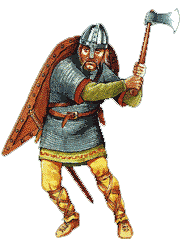 The Anglo-Saxon warrior with