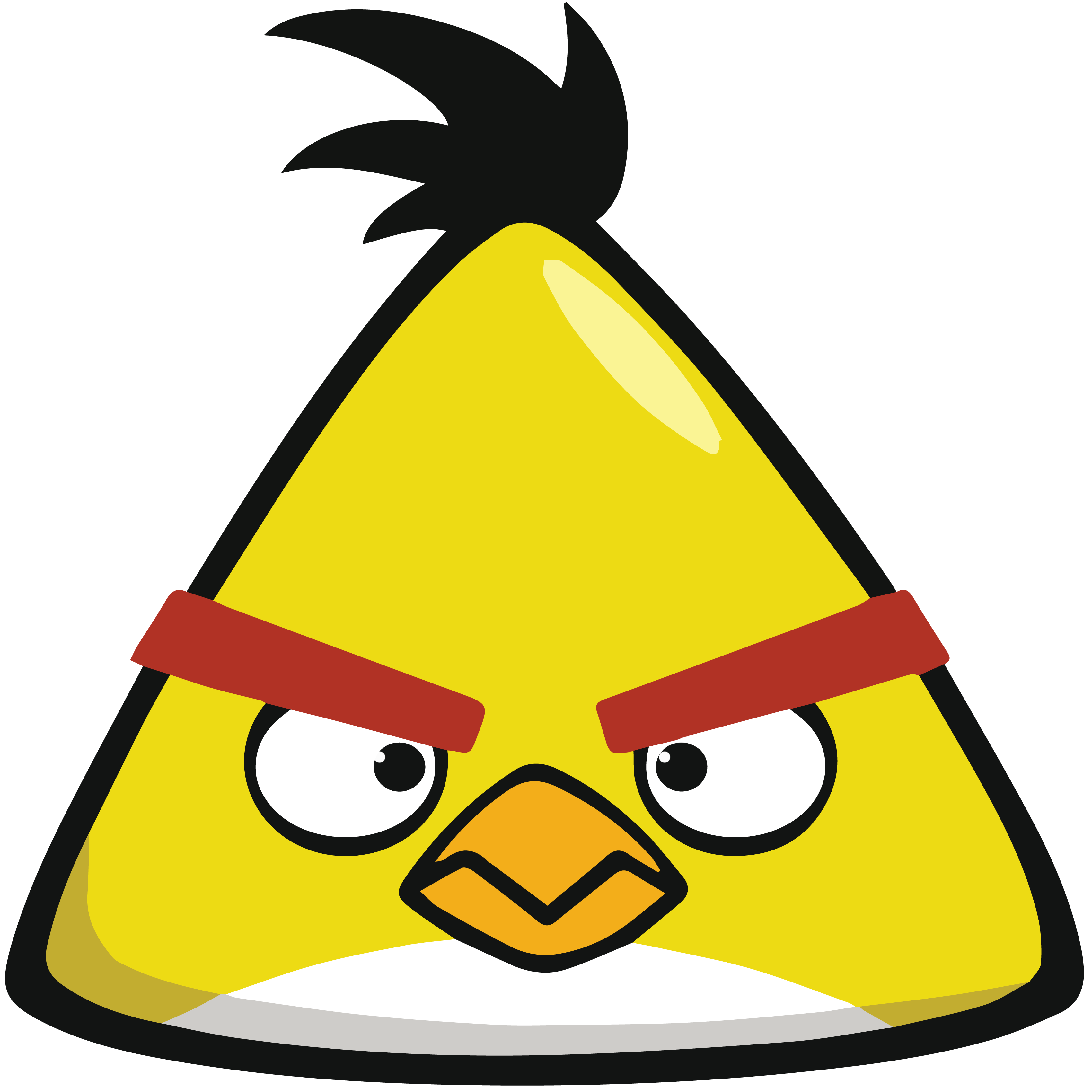 Angry Birds HD PNG-PlusPNG.com-3400 - Angry Birds HD PNG