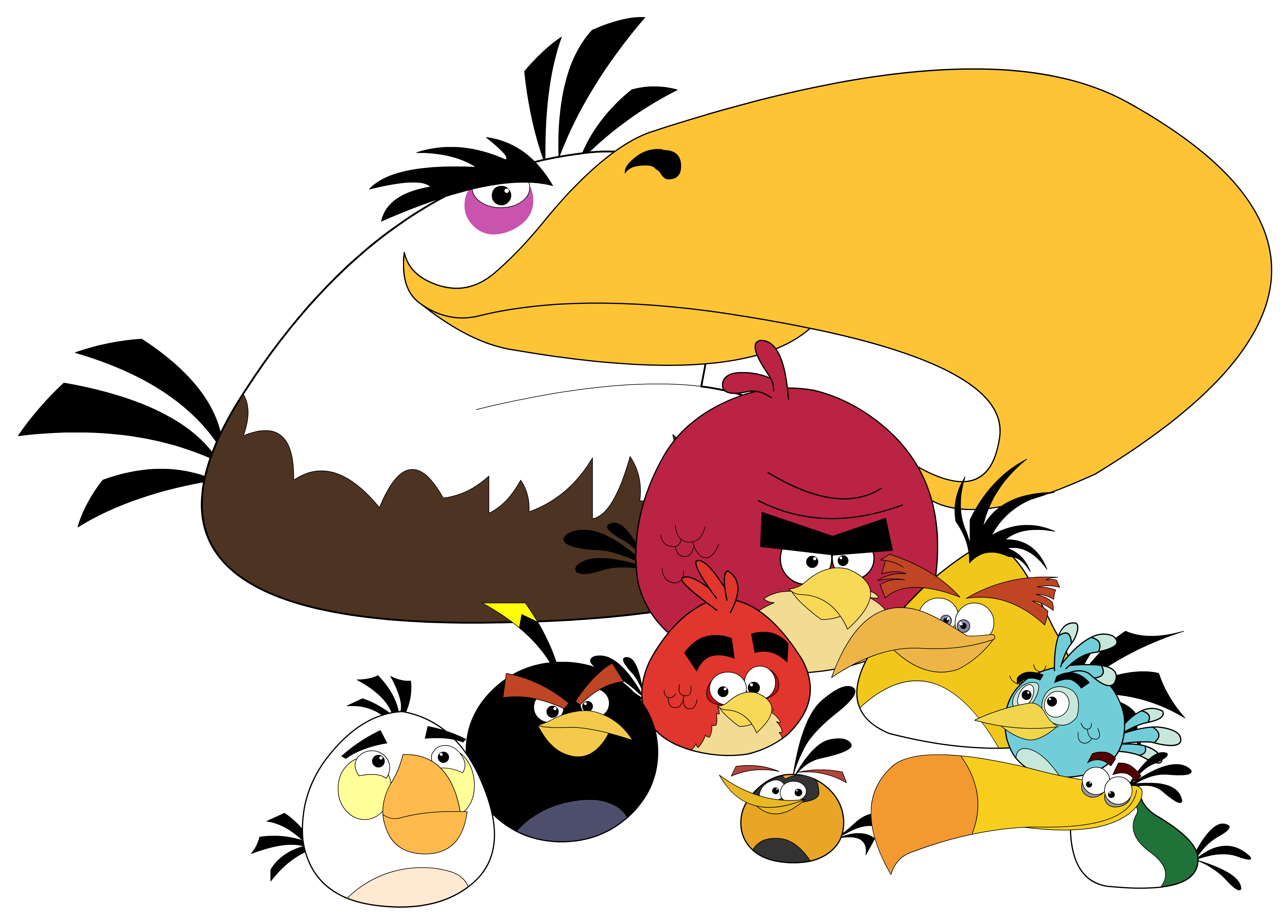 Angry Birds Hd Wallpaper - Angry Birds HD PNG