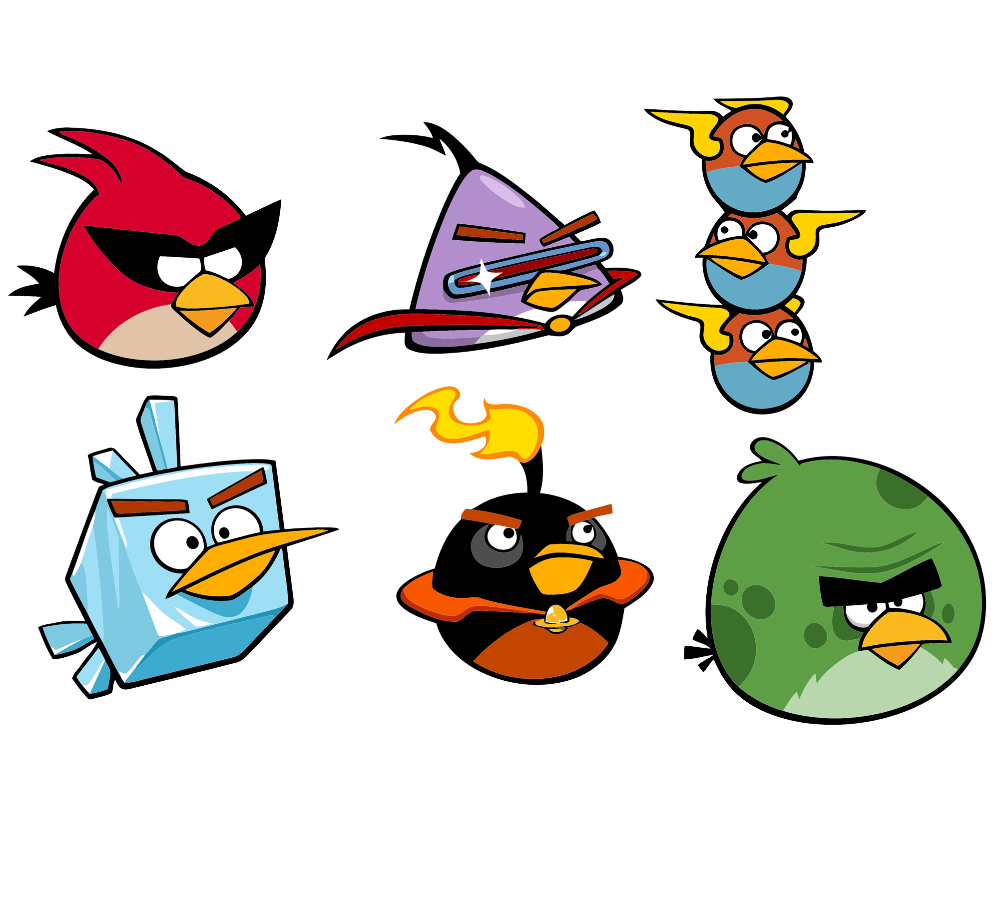 Angry Birds On The - Angry Birds HD PNG