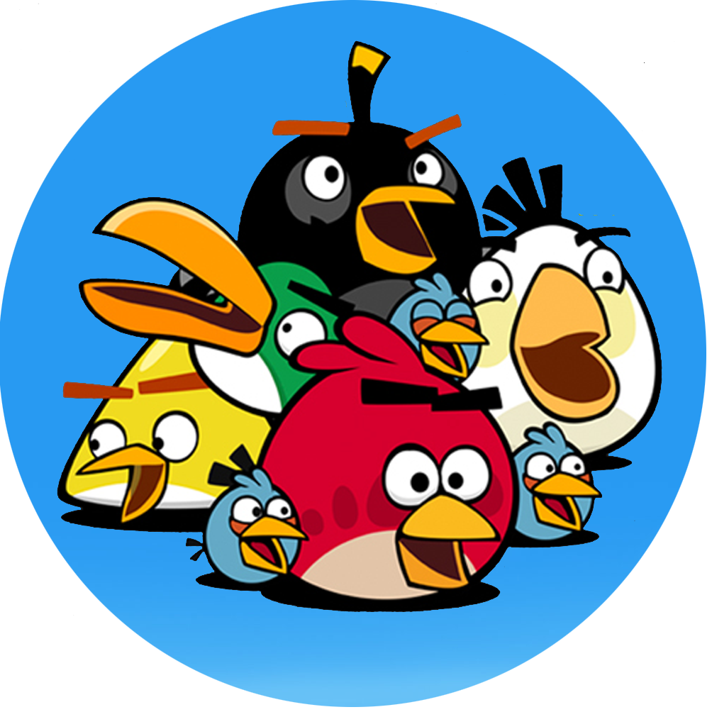 Angry-Birds-Wallpaper-HD - Angry Birds HD PNG