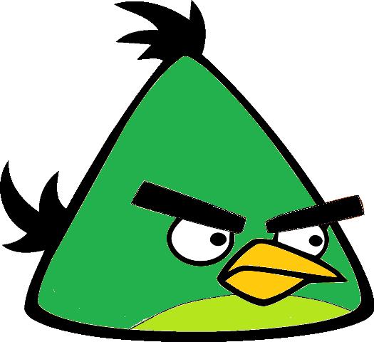 Mint Bird Artwork - Angry Birds HD PNG