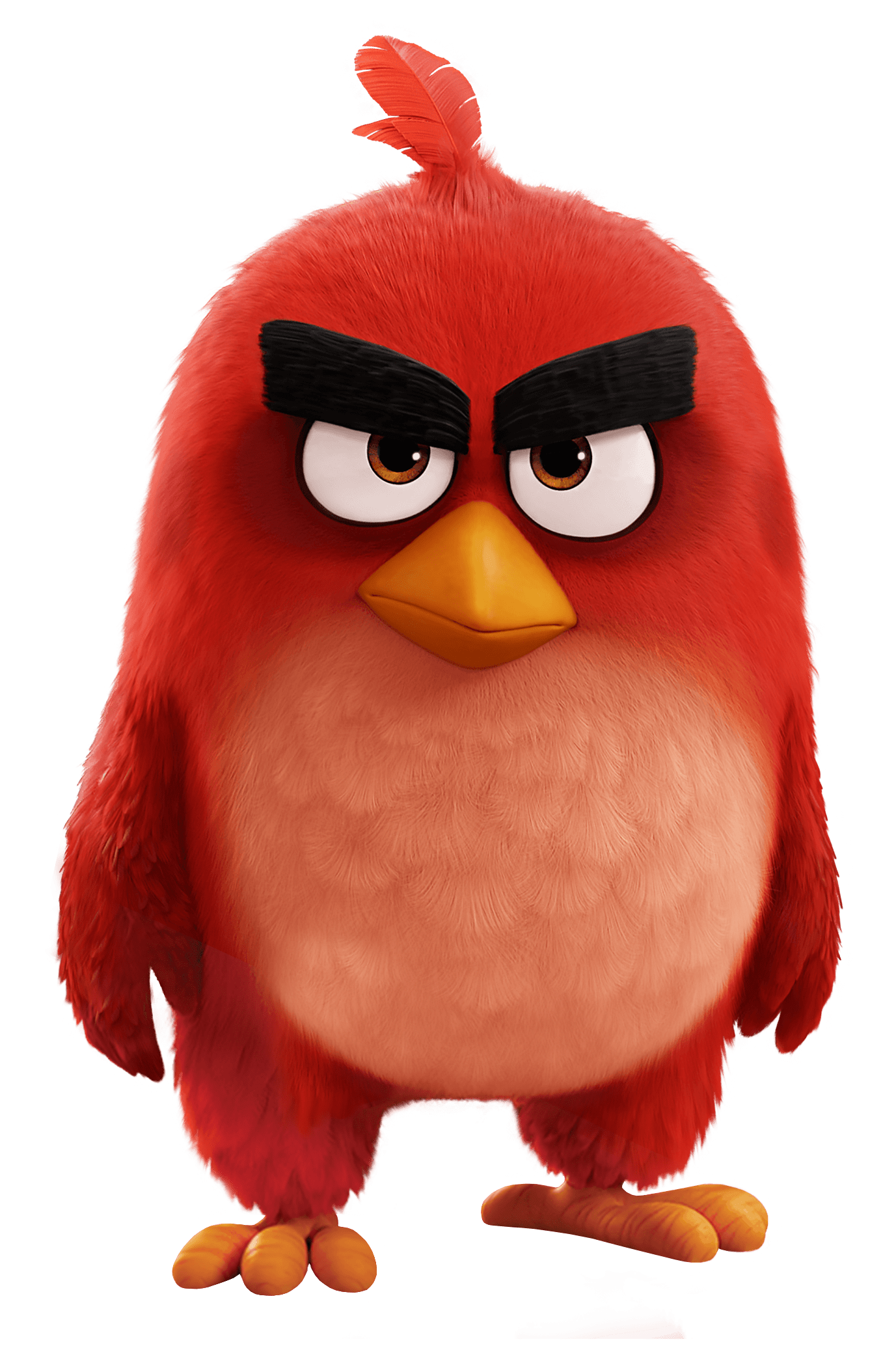 Angry Birds Movie Red Bird - Angry Birds PNG