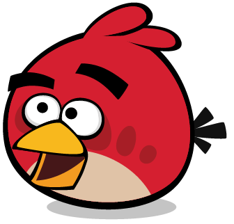 File:RED THINKING AWESOMENESS.png - Angry Birds PNG