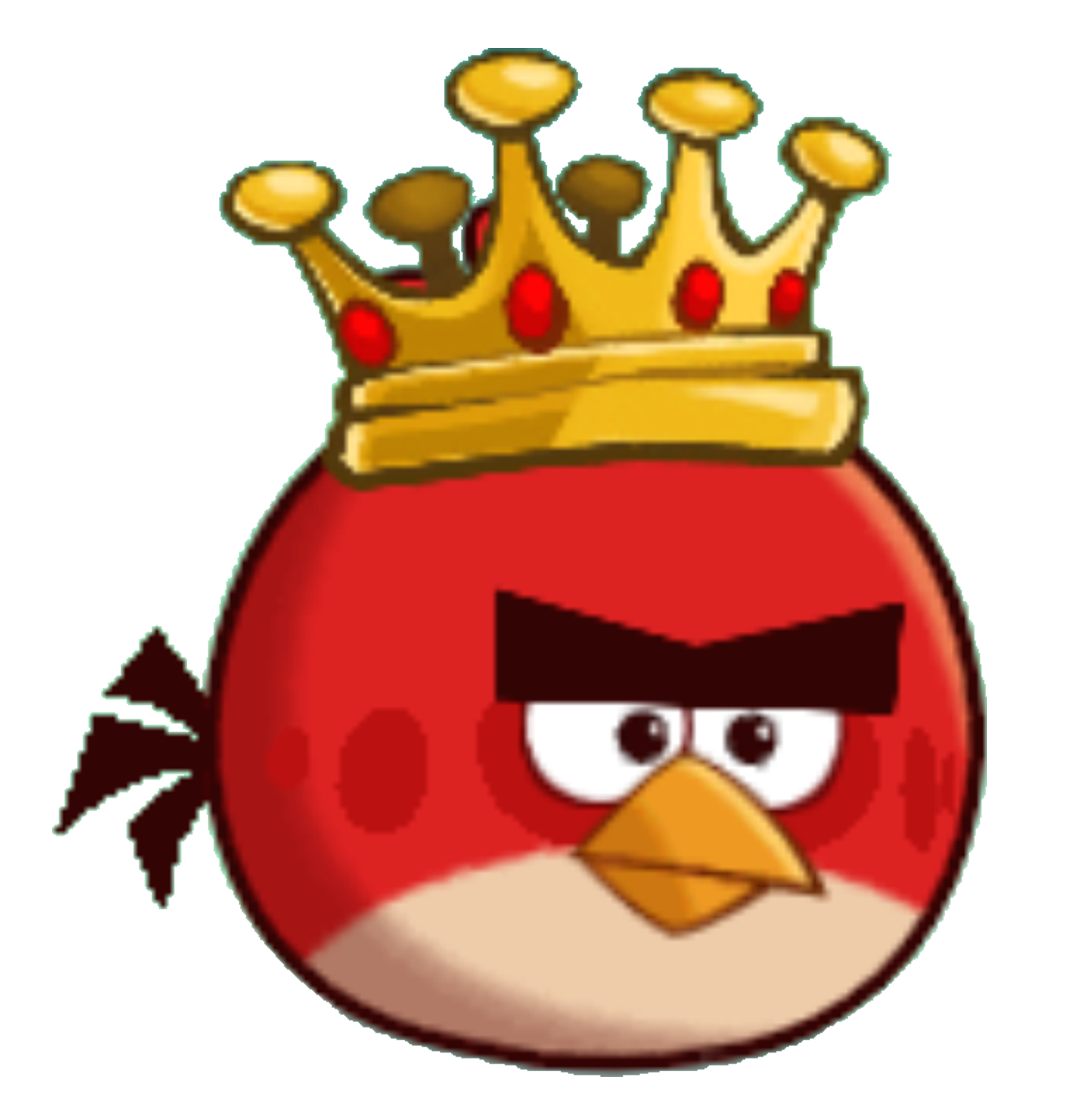 Image - King Red - Angry Birds.png | Angry Birds Wiki | FANDOM powered by  Wikia - Angry Birds PNG