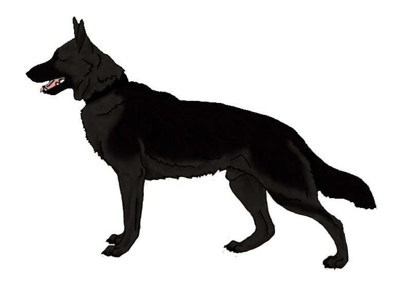 Clip Art German Shepherd Dog 10 Cool Hd Wallpaper - Angry Dog PNG HD