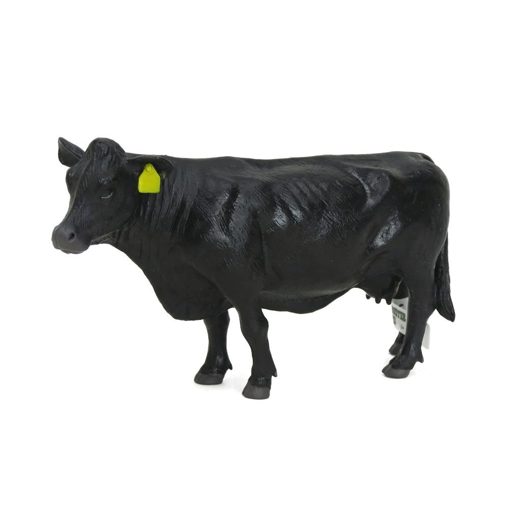 1/16th Little Buster Toys Black Angus Cow - Angus Cattle PNG