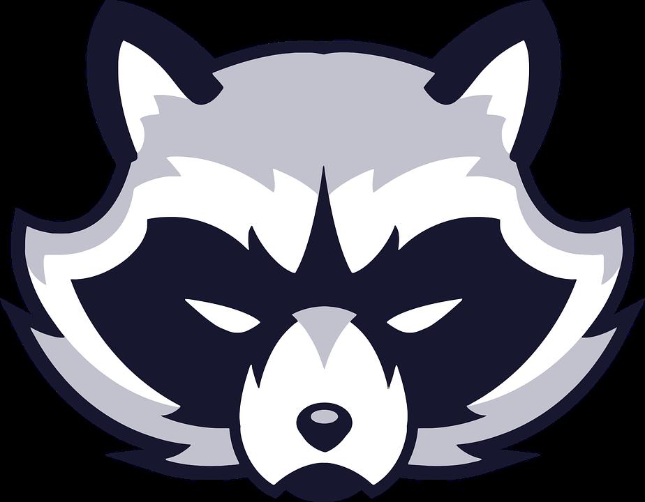 Animal Face Logo Raccoon Vicious Wild - Animal Logo PNG