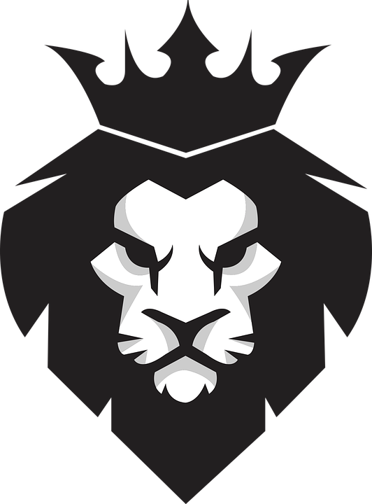 Lion, King, Icon, Logo, Animal, Pride, Wild, Head, - Animal Logo PNG