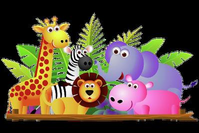 Animal PNG HD For Kids - 131367
