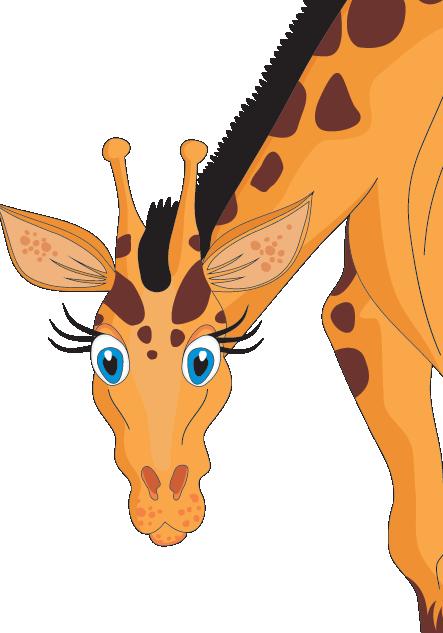 Giraffe Animal Facts Zoo Animals Songs Interesting Giraffe Facts For Kids - Animal PNG HD For Kids