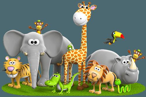 Animal PNG HD For Kids