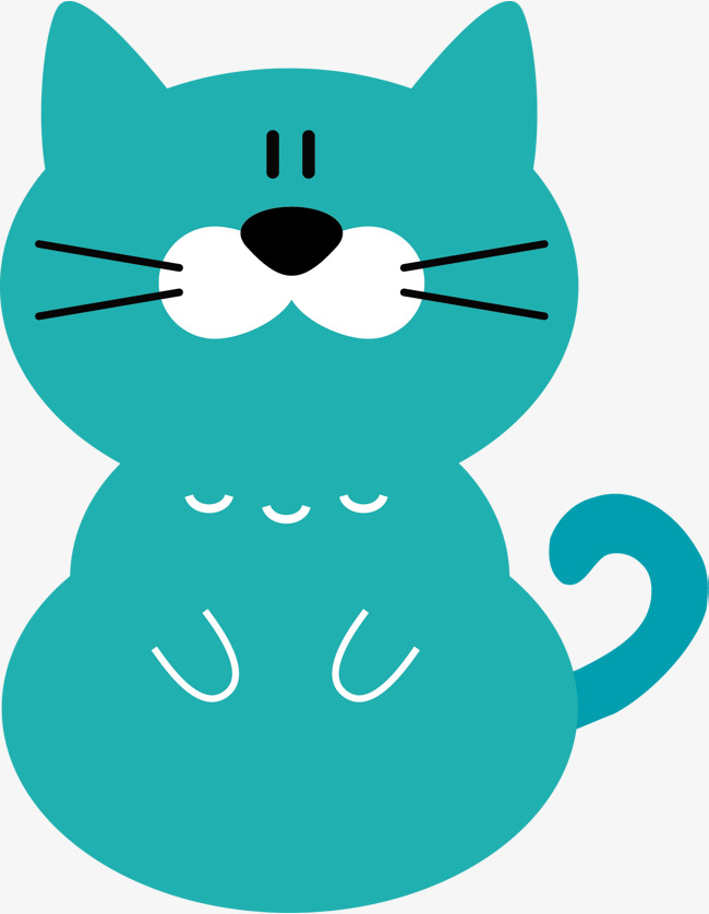Cartoon cat cat vector, Cartoon Hand Drawing, Cartoon Animal, Decorative  Pattern Free PNG and Vector - Animal Vector PNG
