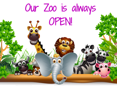 and the Admission is FREE! - Animals At The Zoo PNG
