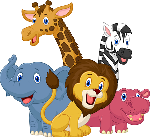 Animals At The Zoo PNG