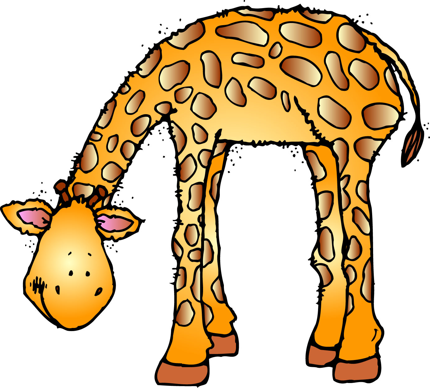 Zoo animals clipart free - Animals At The Zoo PNG
