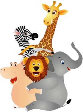 Atlanta Party Entertainment - Animal PNG HD For Kids - Animals Reading PNG HD