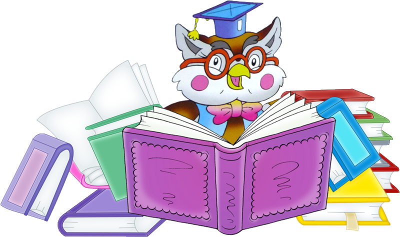 hd clipart Owl School Teacher Funny School 343KB 800x474 - Cute Reading PNG  HD - Animals Reading PNG HD