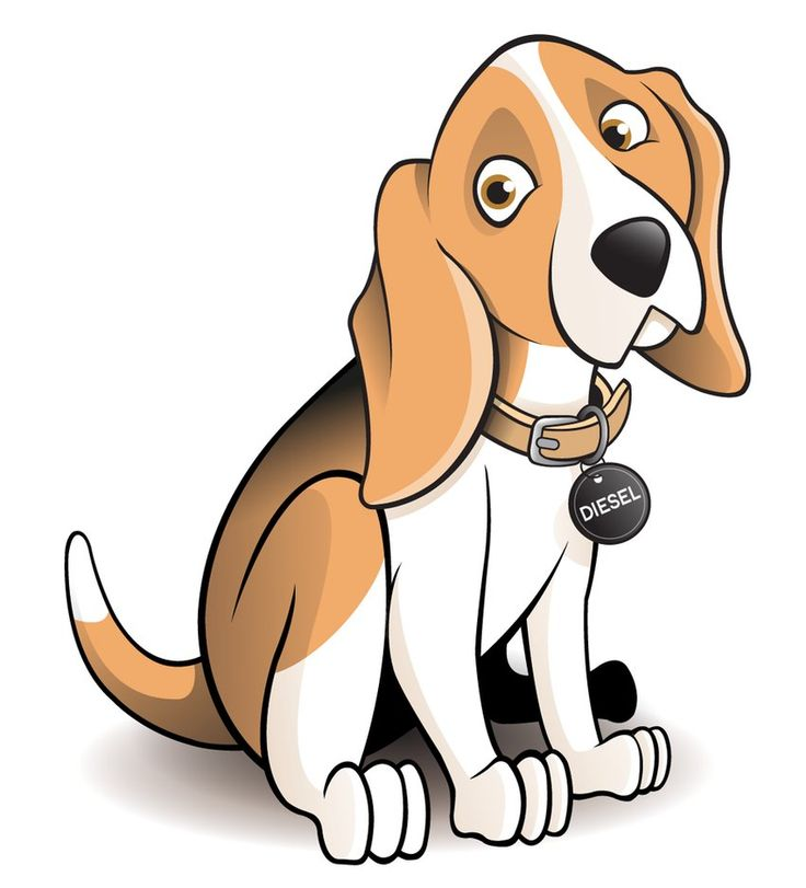 Beagle clipart animated #1 - Animated Dog PNG HD