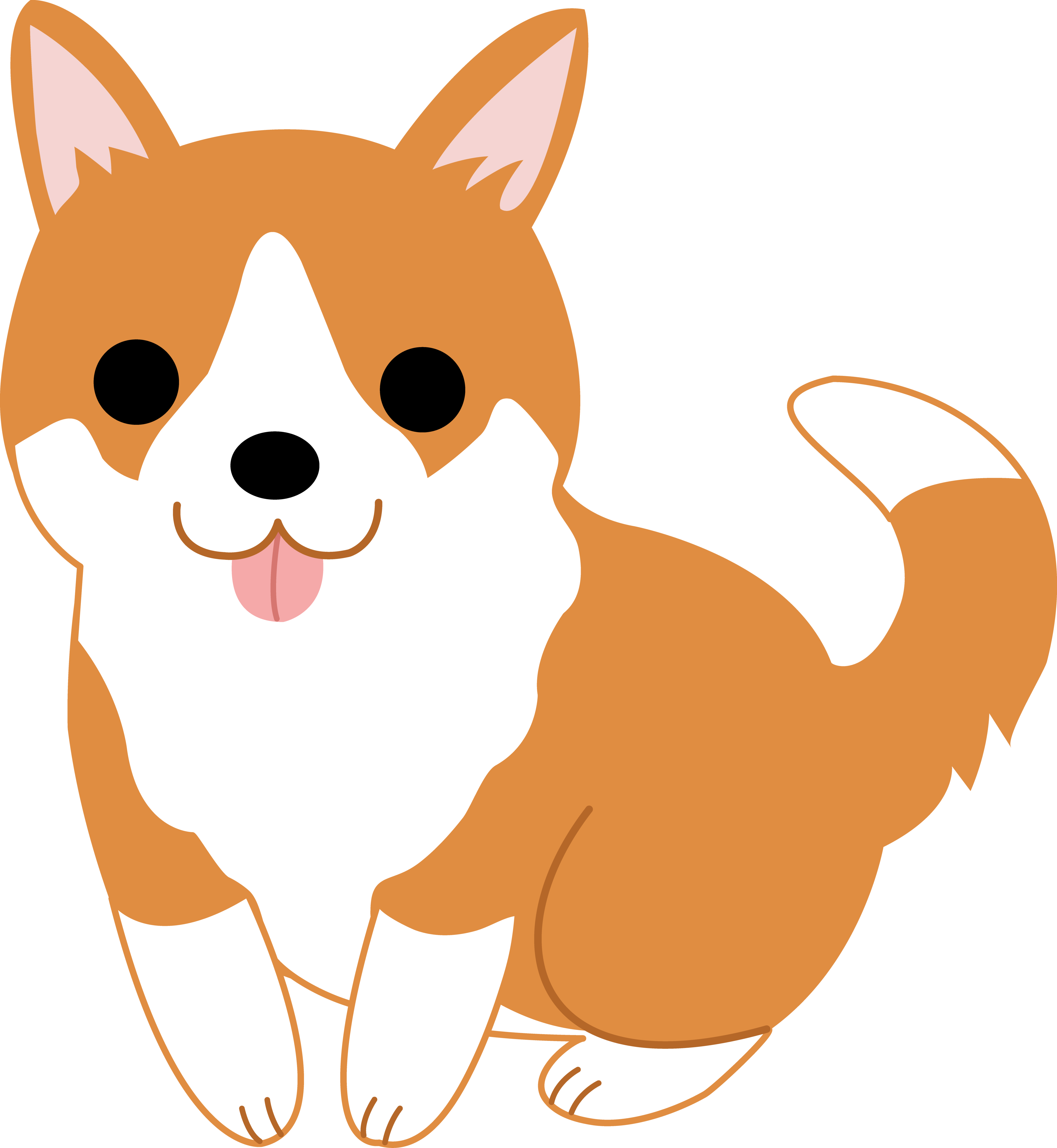 Doge Clipart Hd - Animated Dog PNG HD