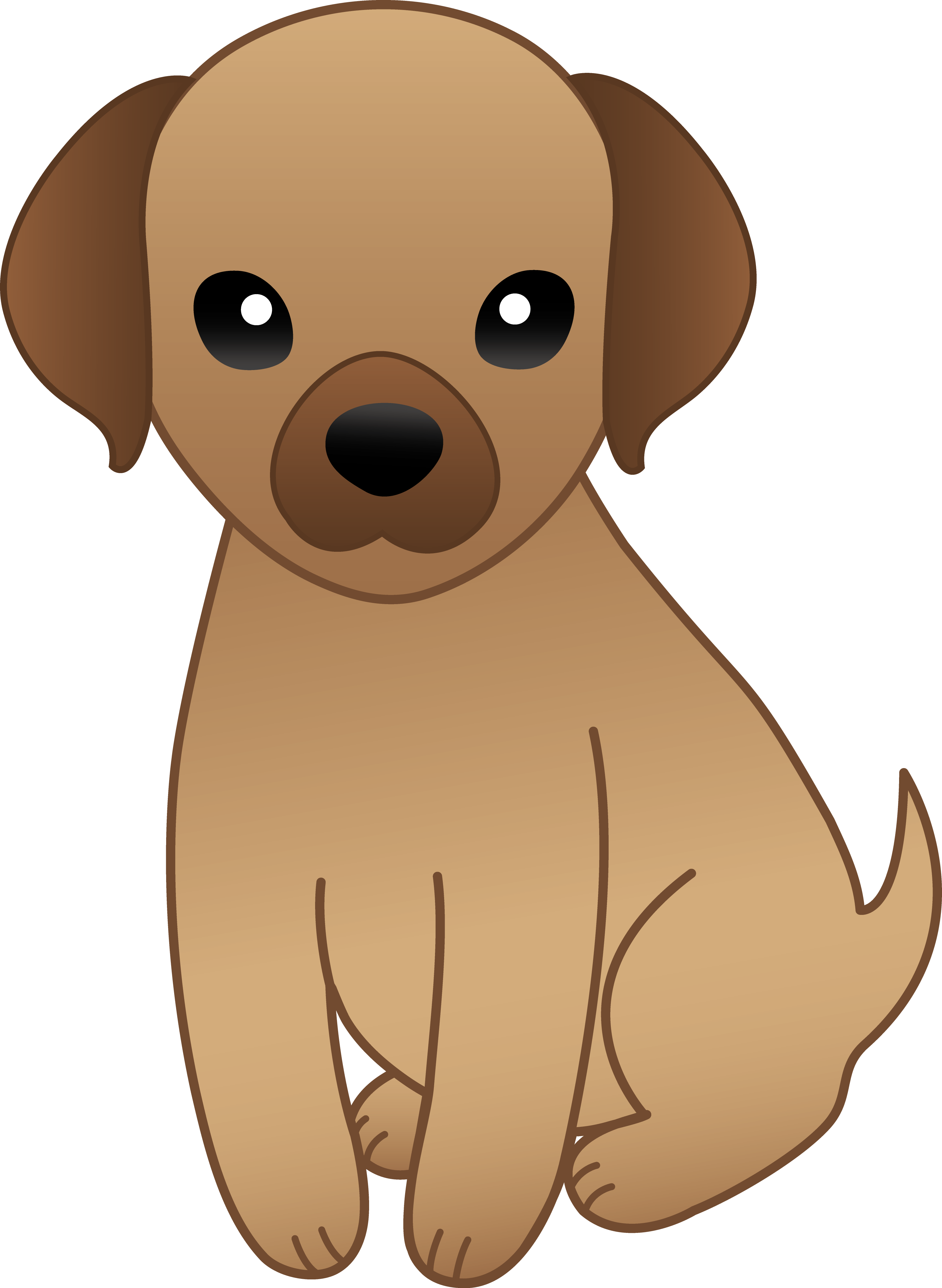 Free Hd Anime Clipart - Animated Dog PNG HD