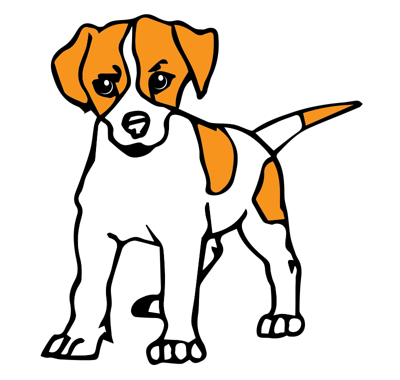 Pet Clipart Small Dog #5 - Animated Dog PNG HD