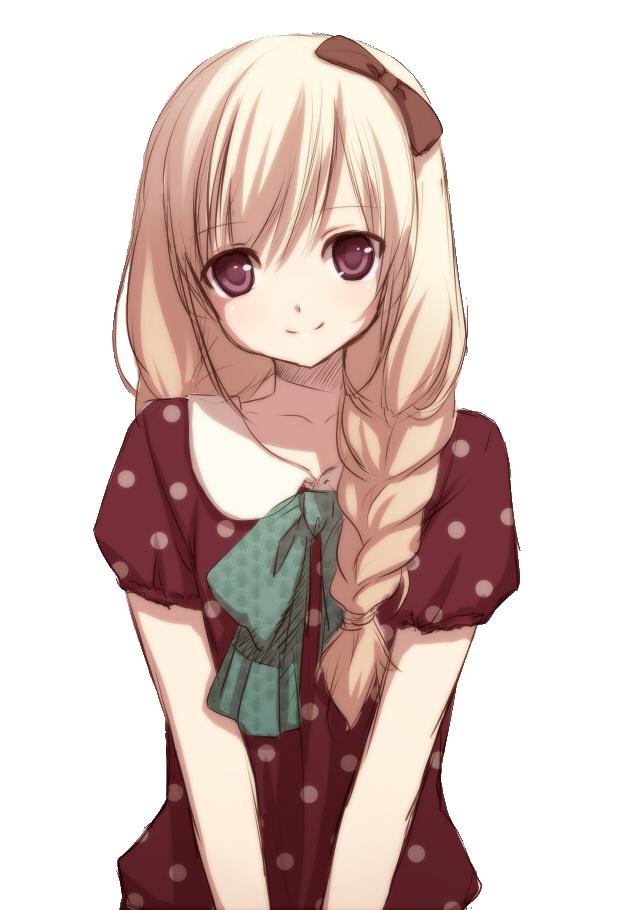 Anime PlusPng.com  - Animated Girl PNG