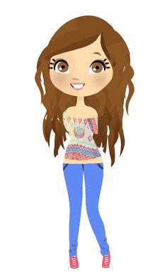 Dolls Png - Buscar Con Google - Animated Girl PNG