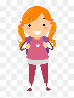 girl endorsement package, Student, Girl, Joy PNG Image and Clipart - Animated Girl PNG