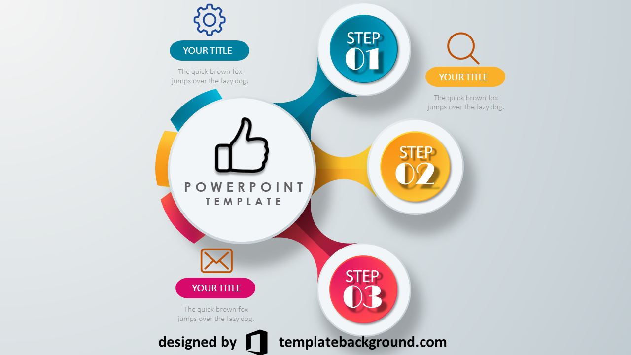 powerpoint template 3d monster - photo #43