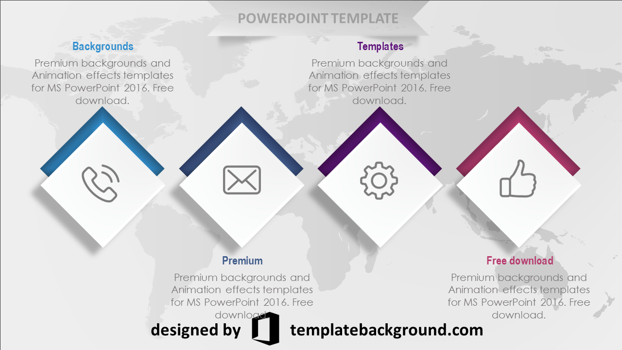 PowerPoint Template Download - Animated PNG For Ppt Free Download