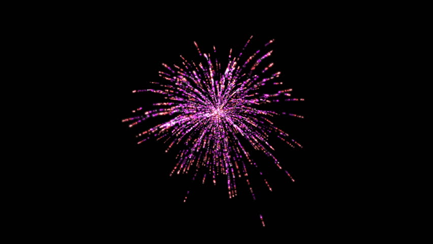 Animated PNG HD Fireworks - 129180