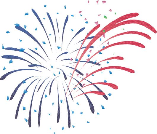 Animated PNG HD Fireworks - 129196
