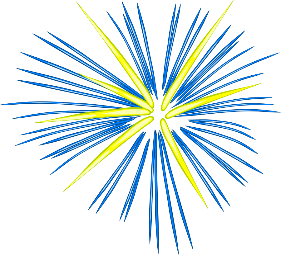 Animated PNG HD Fireworks - 129179