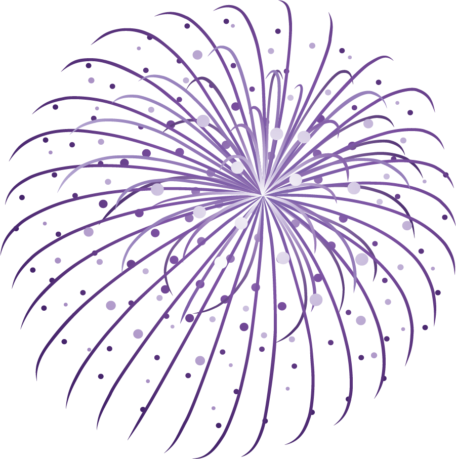 Animated PNG HD Fireworks - 129190