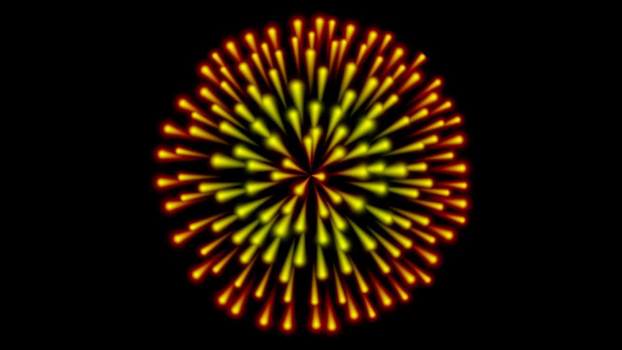 Animated PNG HD Fireworks - 129181
