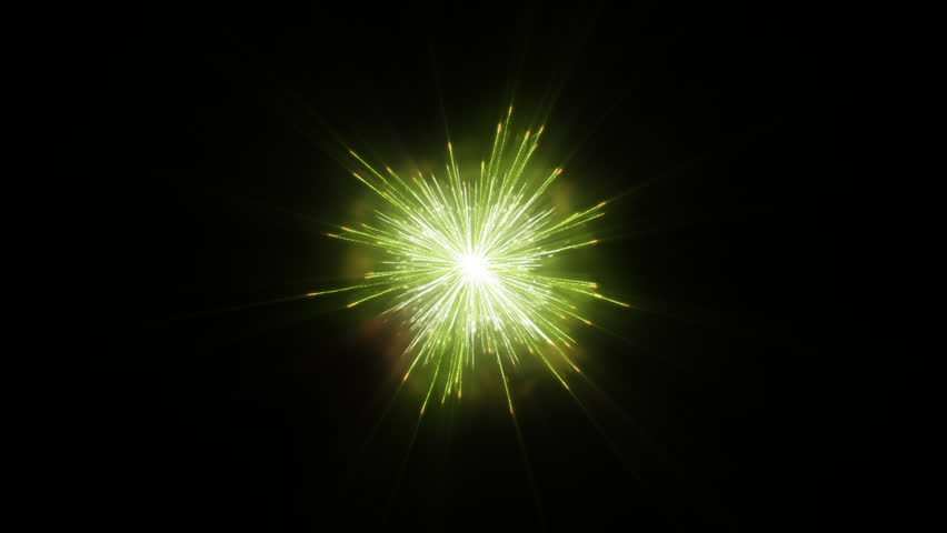 Animated PNG HD Fireworks - 129188