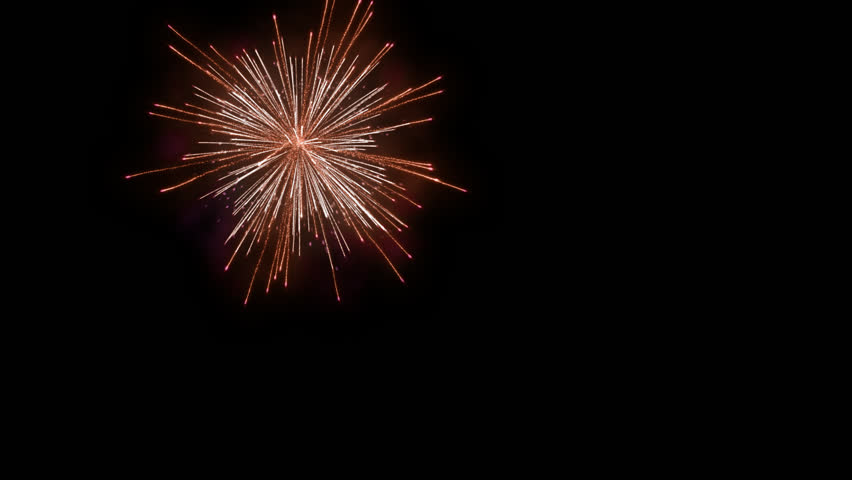 Animated PNG HD Fireworks - 129192