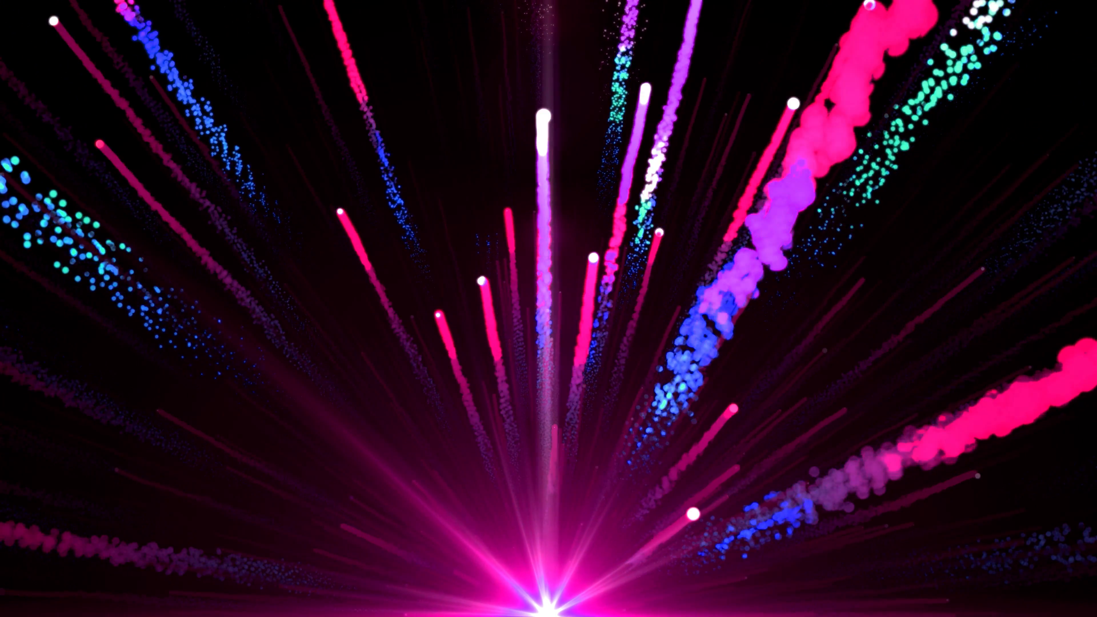 Animated PNG HD Fireworks - 129191