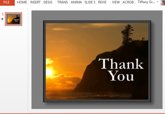 Animated Thank You PNG For Powerpoint